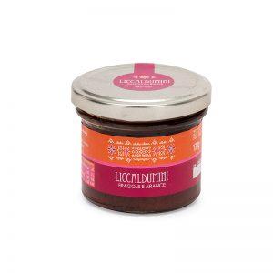 Liccaldumini fragole e arance - Marmellata sarda - Selezione Delphina