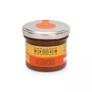 Liccaldumini mele cotogne, arance e chiodi di garofano - Marmellata sarda - Selezione Delphina