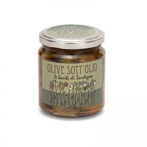 Olive sott'olio della Sardegna - Selezione Delphina