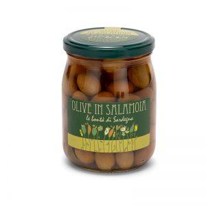 Olive in salamoia della Sardegna - Selezione Delphina